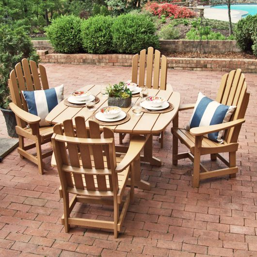 5 Piece Classic Dining Set