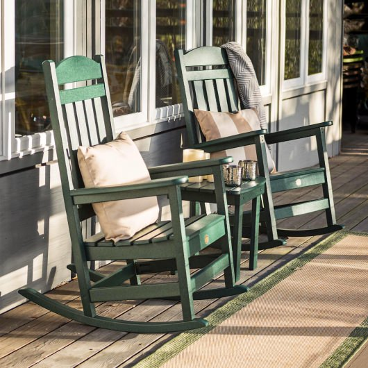 3 Piece Porch Rocker Set
