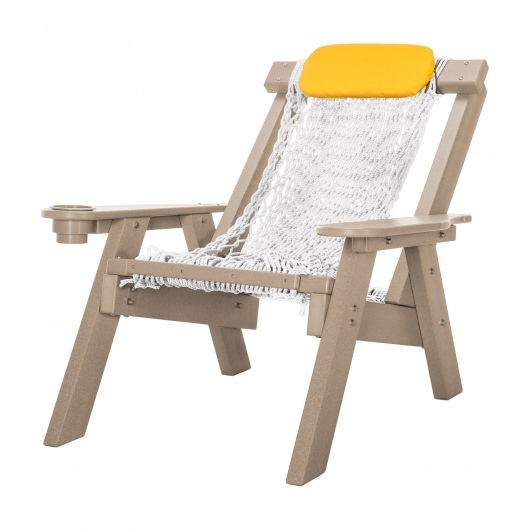 Weatherwood Durawood Single Rope Chair